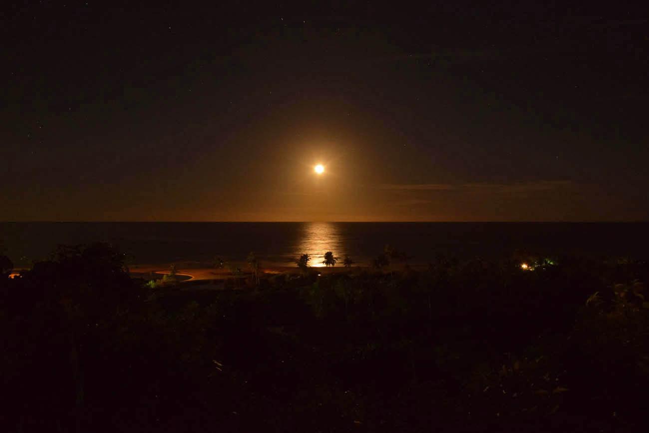 E essa lua??? Casas da Lia - Trancoso - Bahia