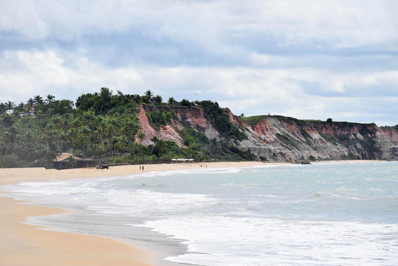 Chegando na Praia do Rio da Barra - Trancoso | Créditos: Lala Rebelo