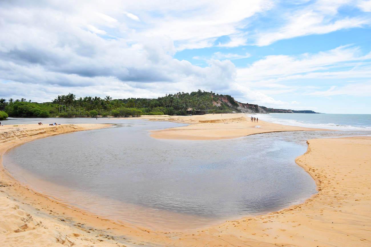 Praia do Rio da Barra - Trancoso | Créditos: Lala Rebelo