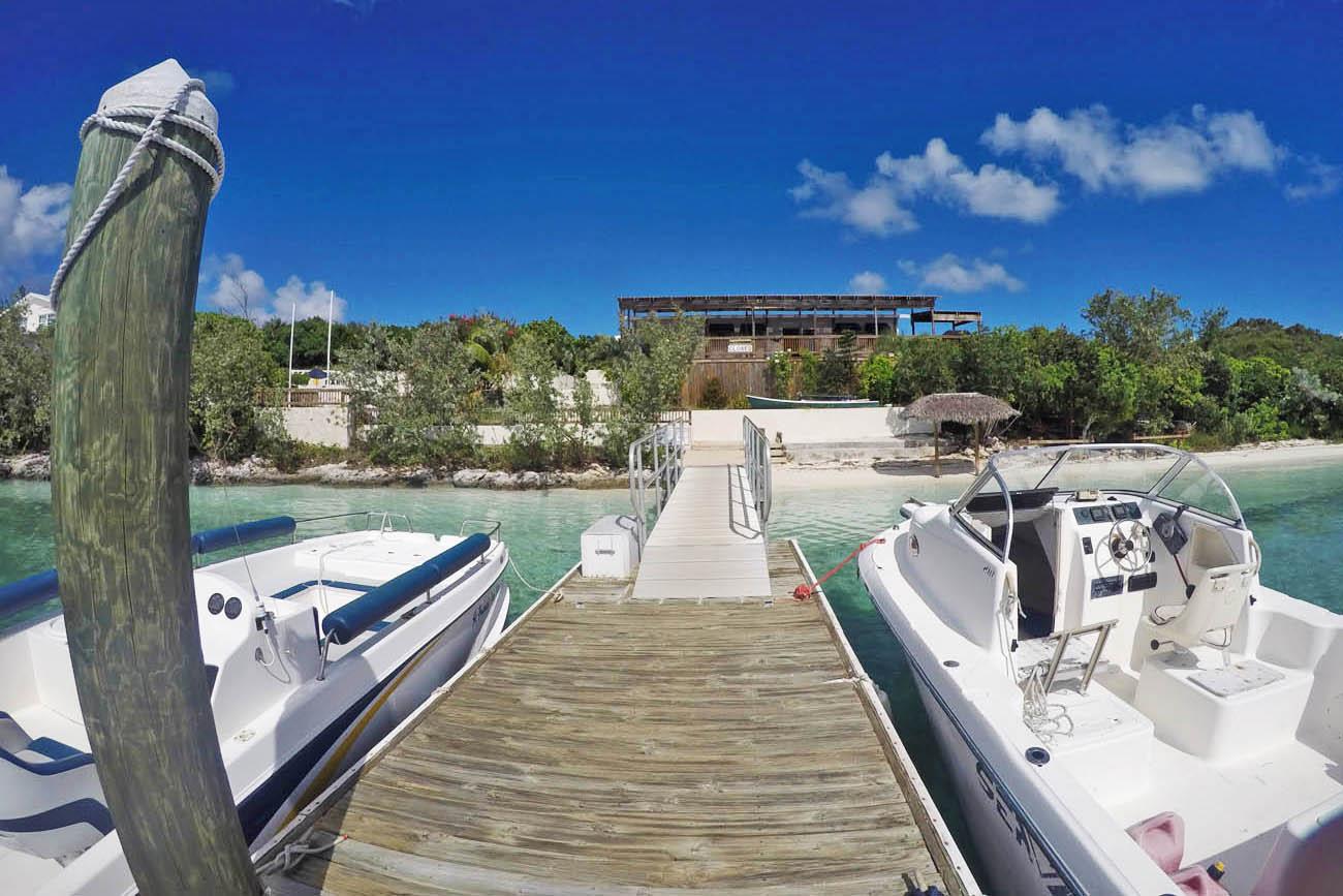 Hotel e Restaurante St. Francis - Stocking Island - Exuma - Bahamas