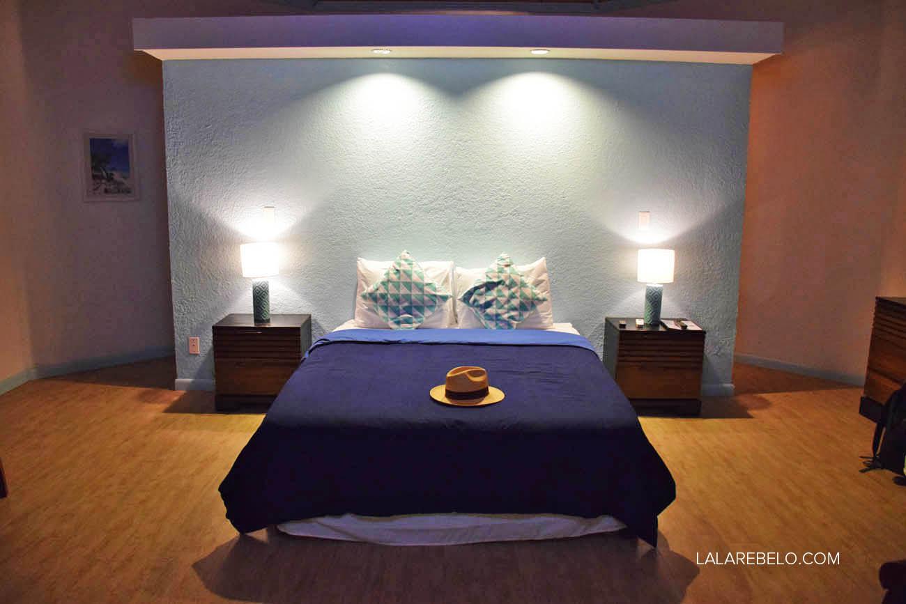 Nosso quarto no Hotel Paradise Bay em Great Exuma - Bahamas