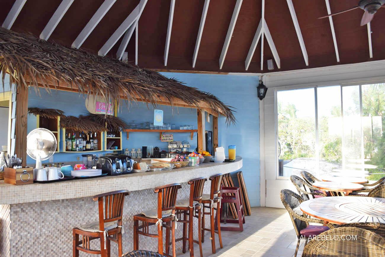 Café da manhã (Restaurante La Fourchette) - Hotel Paradise Bay - Great Exuma - Bahamas