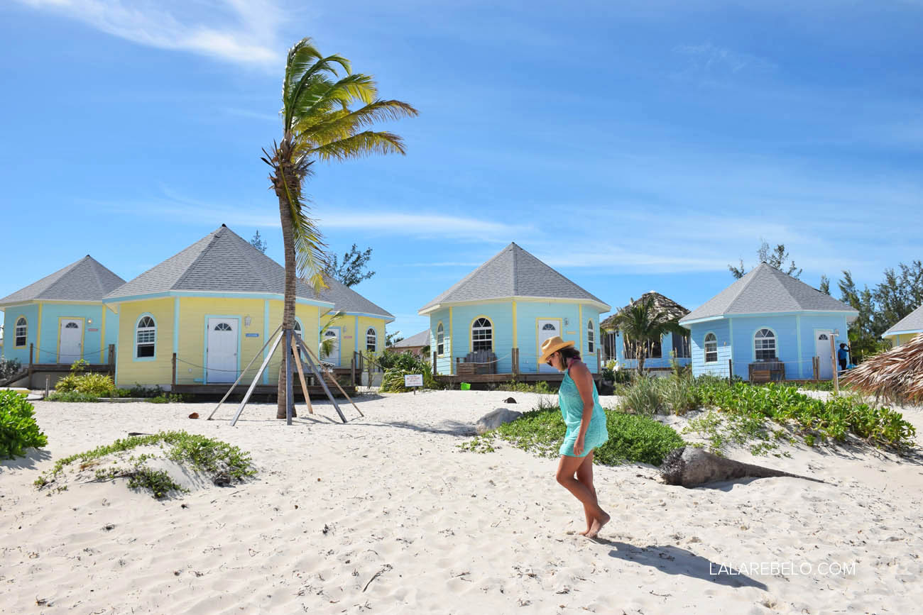 Nosso hotel Paradise Bay em Great Exuma, Bahamas | Atmosfera relax!