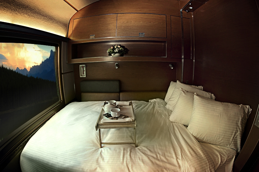 Trem The Canadian - Prestige Sleep Pluss Class | Créditos Via Rail