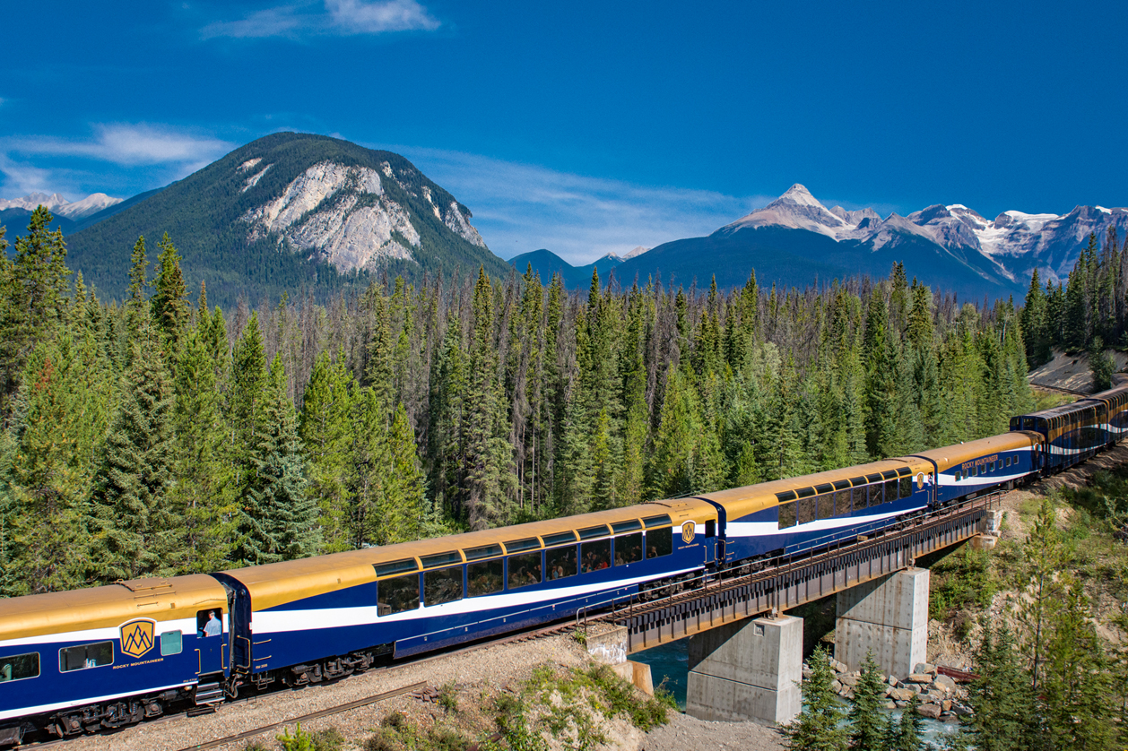 Trem Rocky Mountaineer, Canadá | Créditos: Rocky Mountaineer