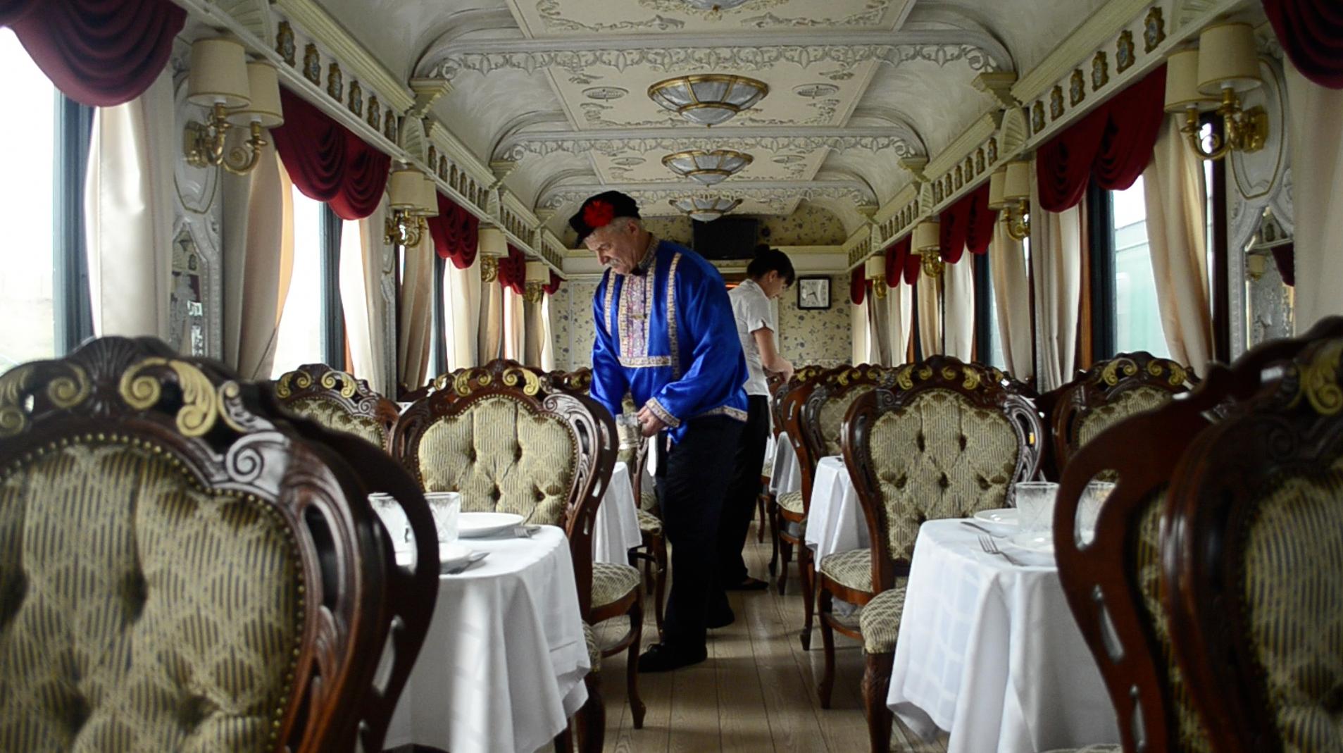 Trem Transiberiano, que vai de Moscou a Pequim | Créditos: Eurasia Trains & Tours