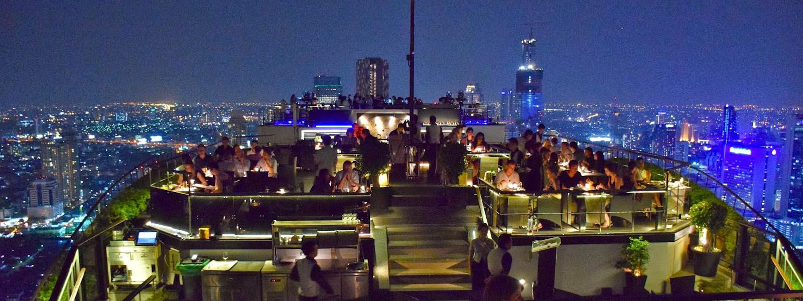Vertigo and Moon Bar em Bangkok, Tailândia | Créditos: Lala Rebelo