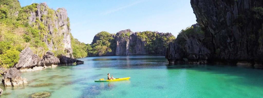 Big Lagoon, em El Nido - Palawan - Filipinas | Créditos: Lala Rebelo