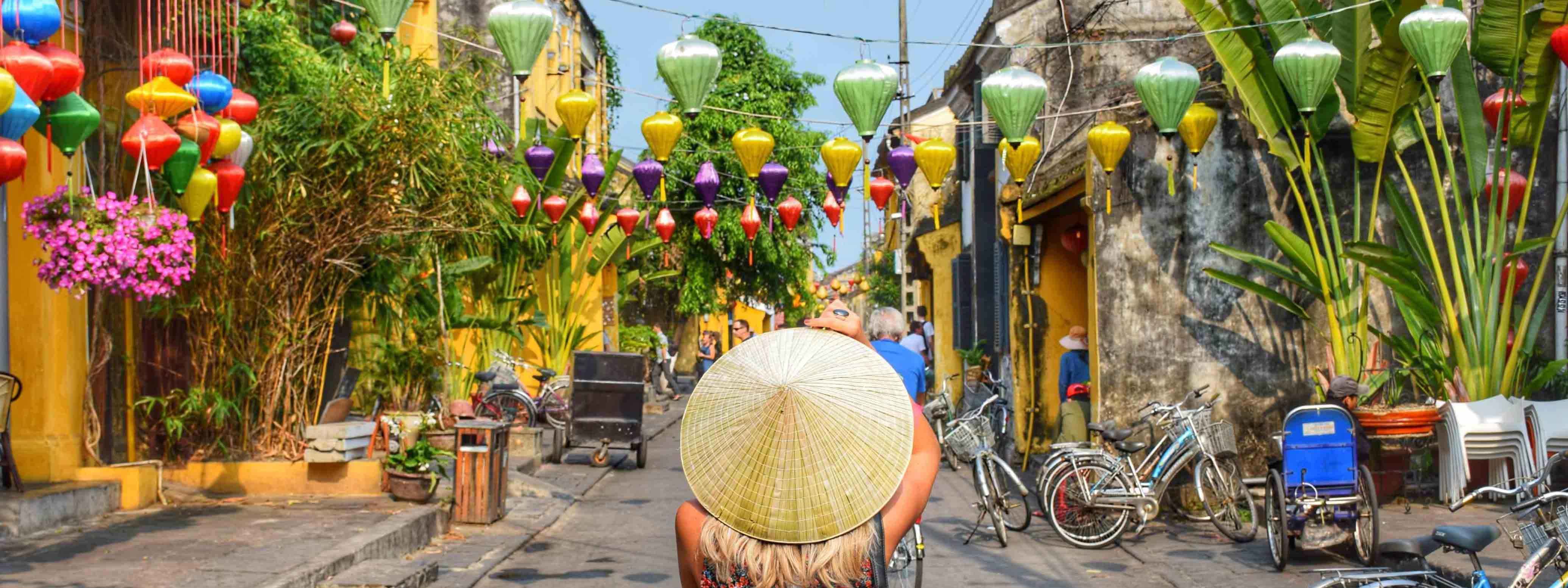 Cidade antiga de Hoi An, no centro do Vietnã | Créditos: Lala Rebelo