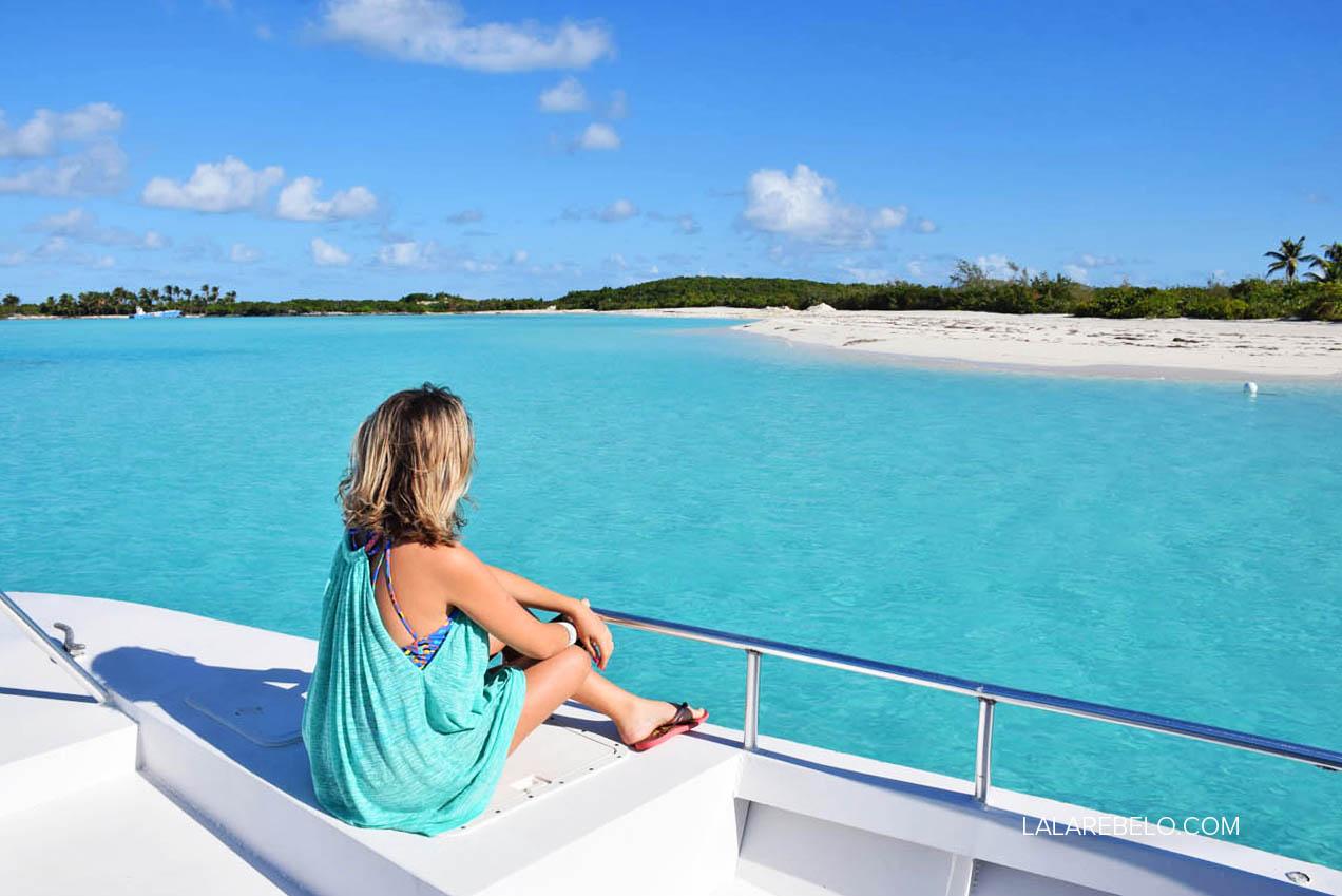 Passeio de barco pelos Exuma Cays, Bahamas | Exuma Water Tours - Four C's Adventures