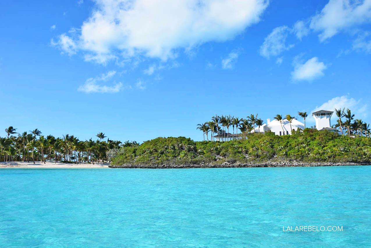 Casa da Faith Hill & Tim McGraw em ilha privada de Exuma Cays - Bahamas