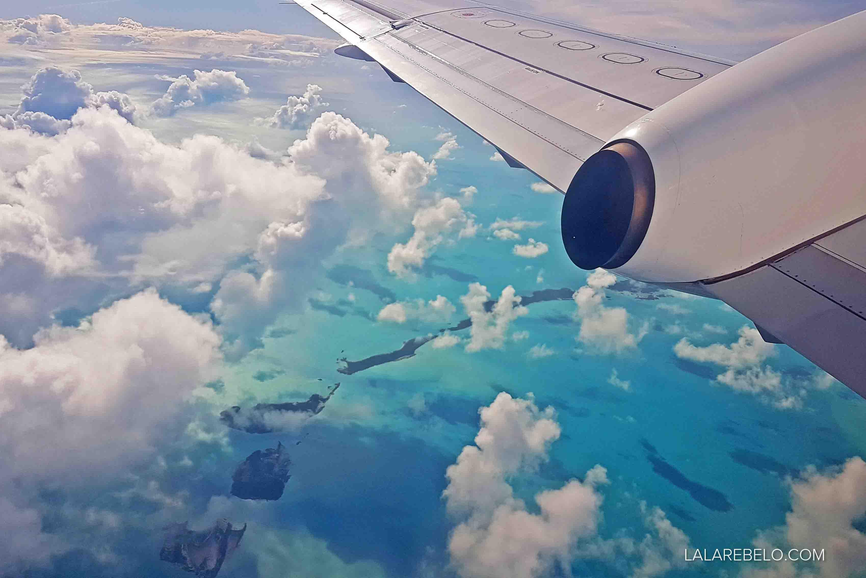Sobrevoando as Exumas, Bahamas - MARAVILHOSO!!!