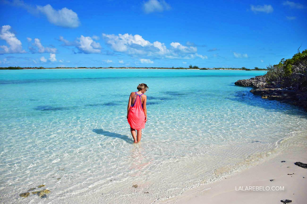 PARAÍSO!!! Haulover Bay - Rolle Town - Exuma - Bahamas