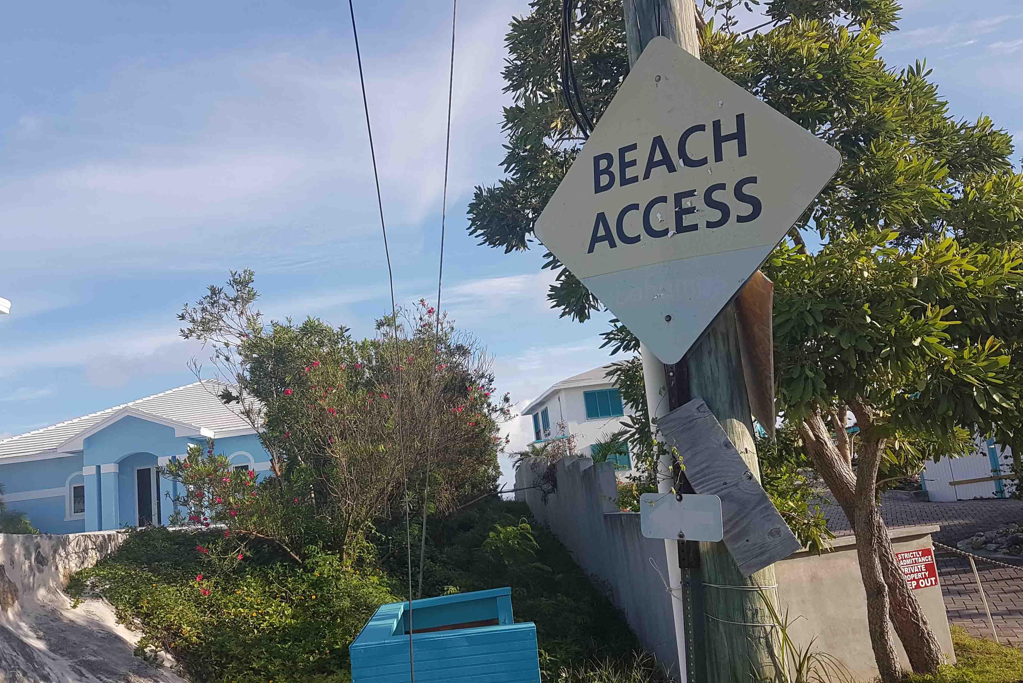 Acesso para Hoopers Bay - praia das tartarugas | Exuma - Bahamas