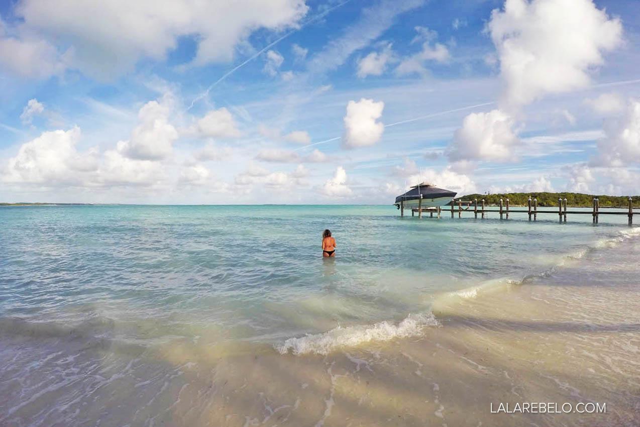 Em busca das tartarugas em Hoopers Bay - Exuma - Bahamas