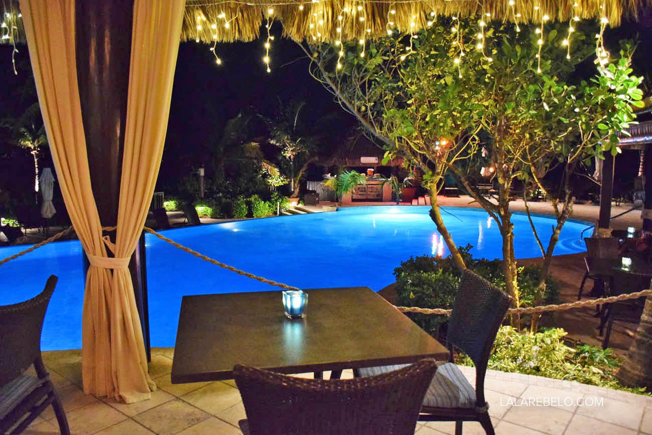 Palapa Grill Restaurant - Grand Isle Resort - Great Exuma - Bahamas