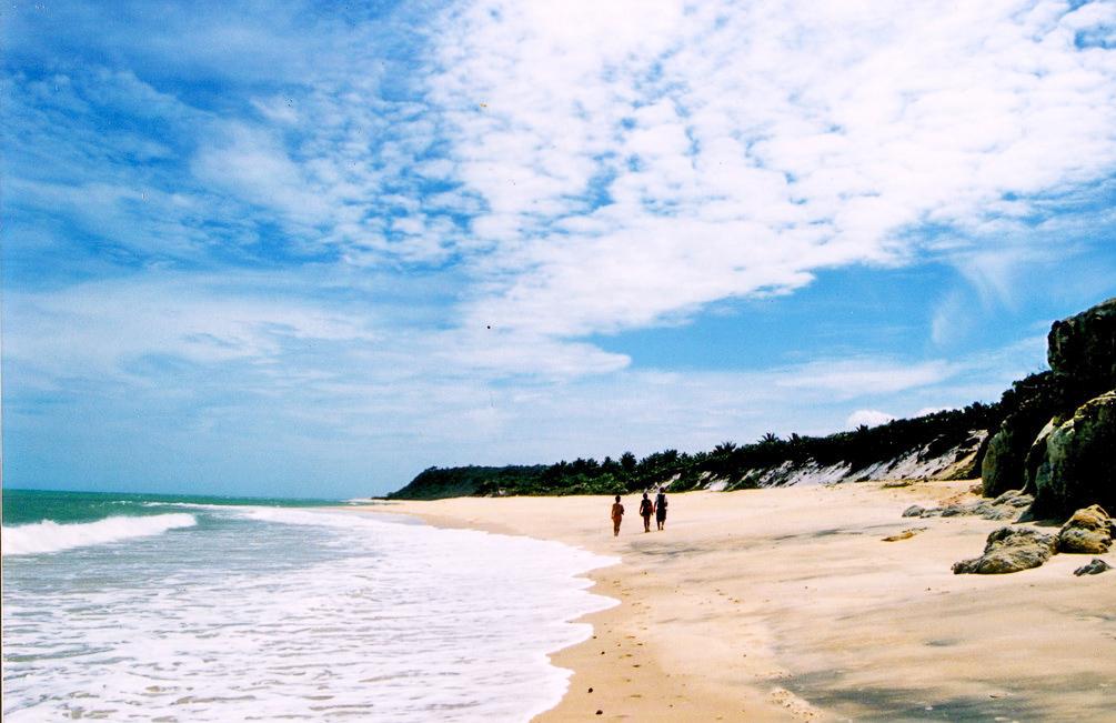 Praia do Espelho em um dia de sol - Bahia | Créditos: Vihh/Flickr (CC)
