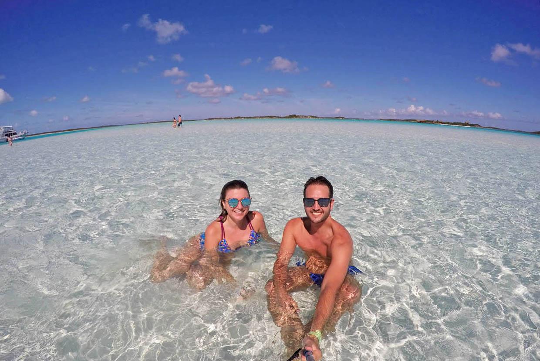 sand bar exuma bahamas