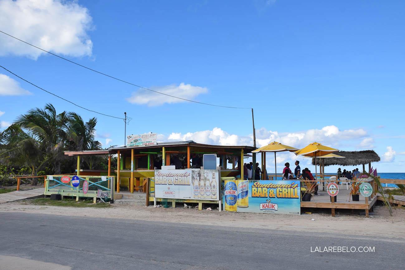 Santanna's Restaurant - Little Exuma - Bahamas
