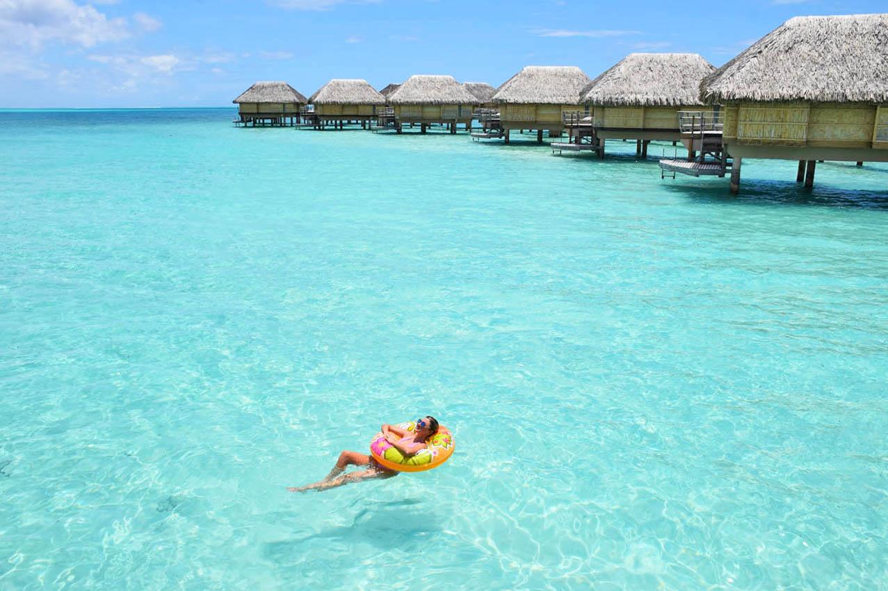 Le Taha'a Island Resort, no Motu Tautau próx. a ilha de Taha'a