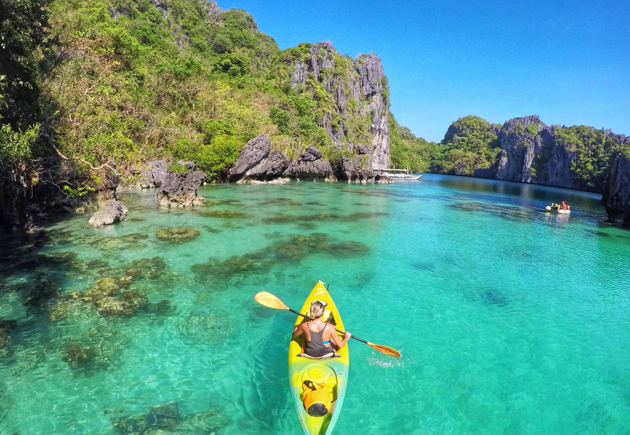 Big Lagoon em El Nido, Filipinas | Créditos: Lala Rebelo