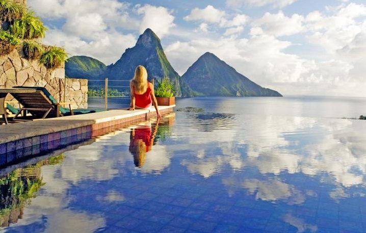 Jade Mountain Resort em Saint Lucia | Créditos: divulgação