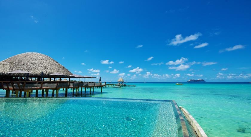 Kia Ora Resort & Spa na ilha de Rangiroa, Polinésia Francesa | foto: divulgação