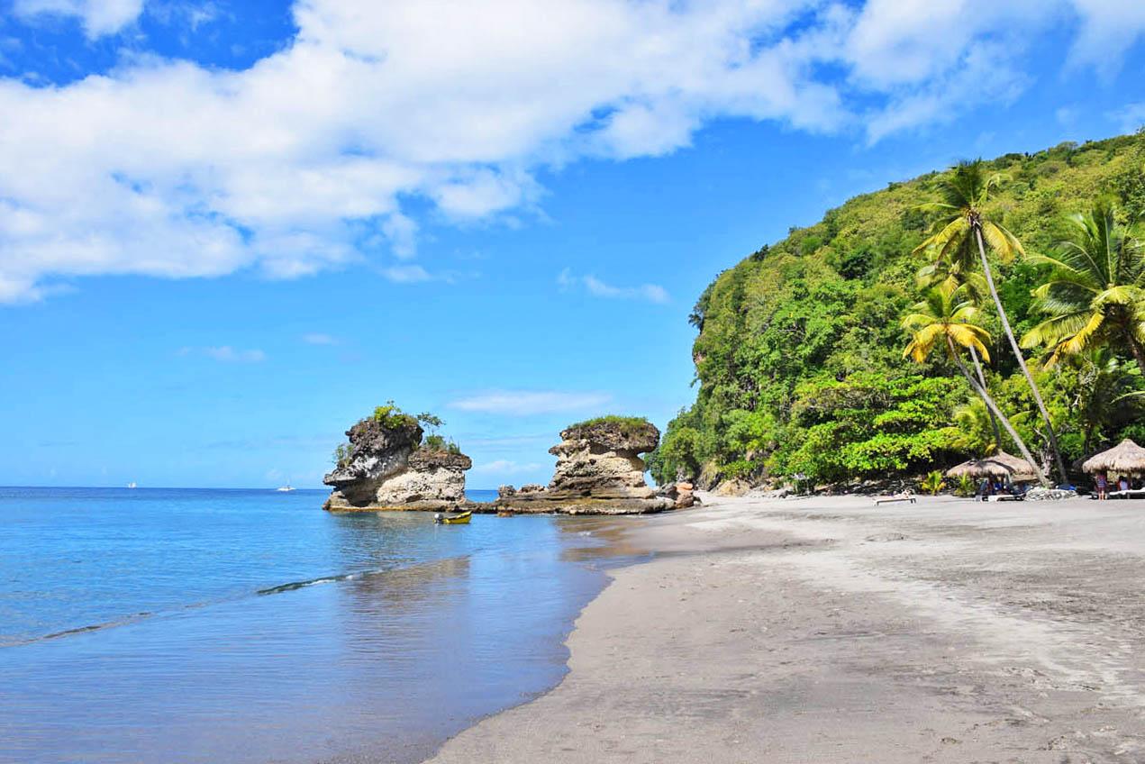 Praia Anse Mamin - Jade Mountain - St Lucia | foto: Lala Rebelo