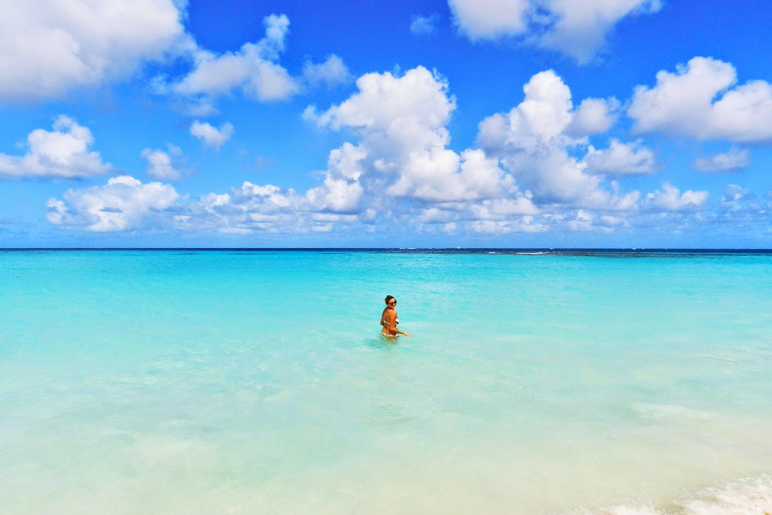 Praia Shoal Bay em Anguilla, no Caribe | foto: Lala Rebelo
