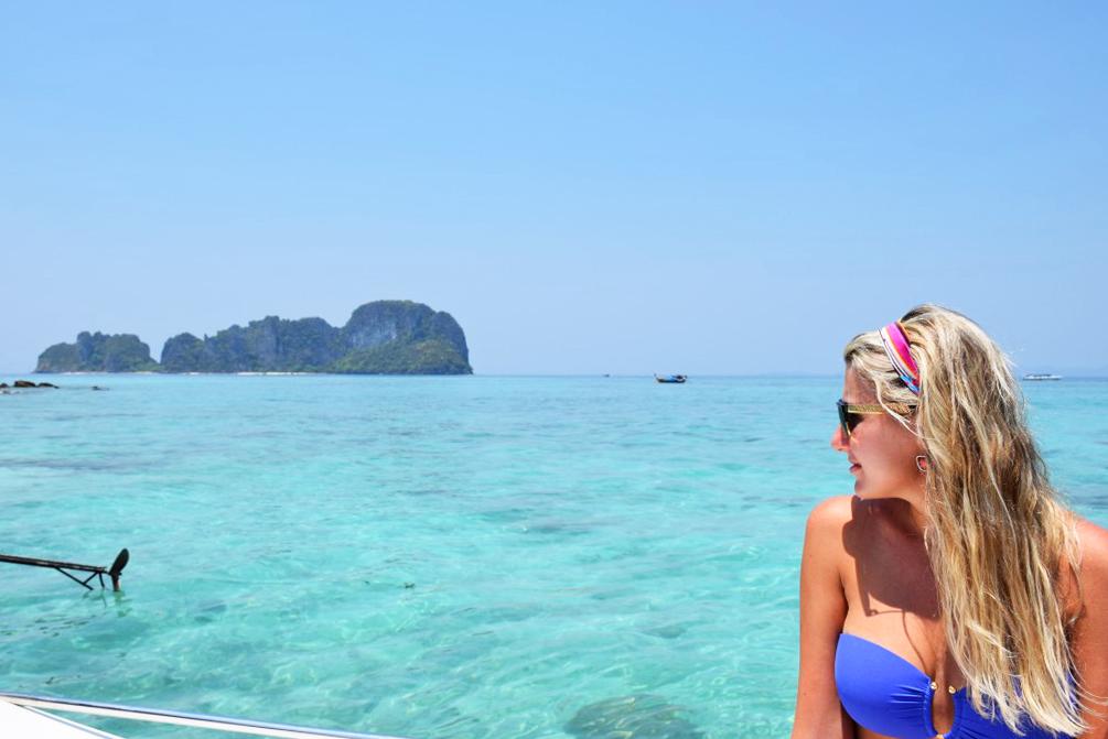 Bamboo Island, parte de Phi Phi, em Krabi, Tailândia | foto: Lala Rebelo
