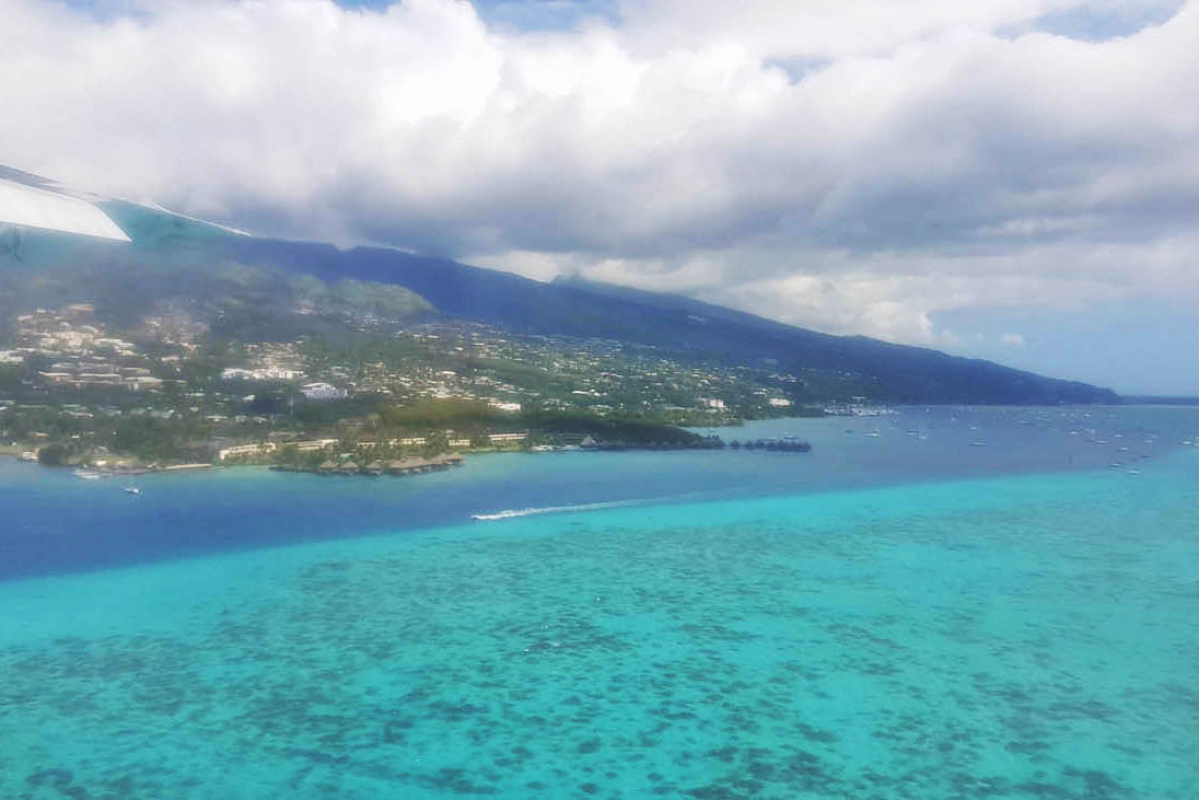 Chegada em Papeete | foto: Lala Rebelo