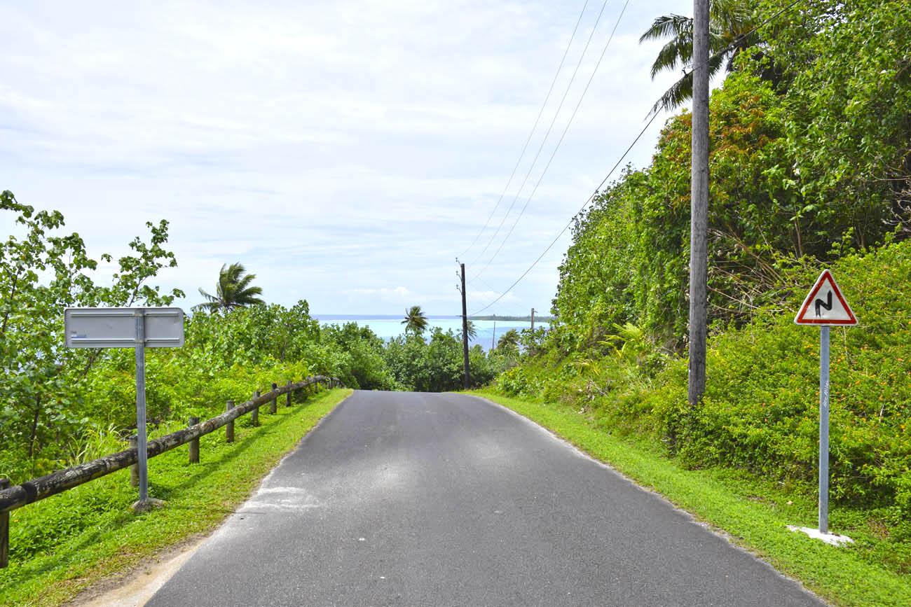 Muita paz, muito verde e um marzão azul (lá atrás!!) - Huahine| foto: Lala Rebelo