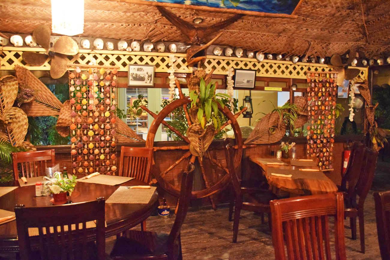 Restaurante Huahine Yacht Club | foto: Lala Rebelo