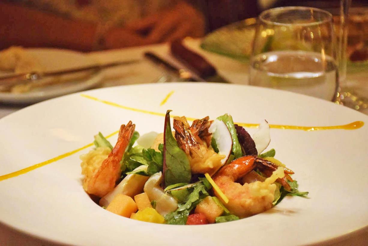 Prato do jantar à la carte do Restaurante Le Vanille - Le Taha'a Island Resort | foto: Lala Rebelo