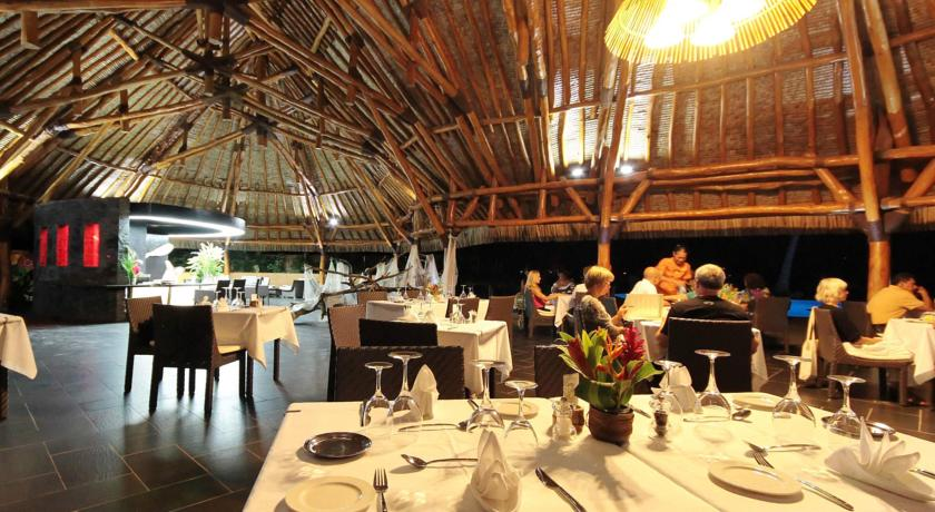 Restaurante OMAI no Hotel Maitai Lapita Village, Huahine | foto: divulgação