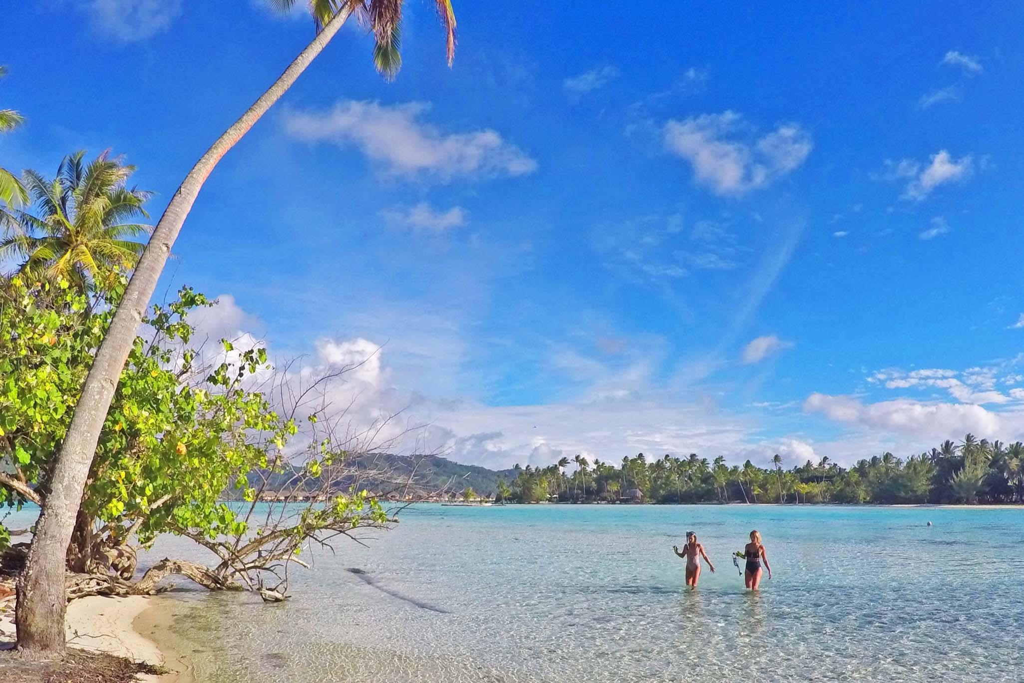É nesse canal que fica o Coral Garden - snorkel sensacional! | foto: Lala Rebelo