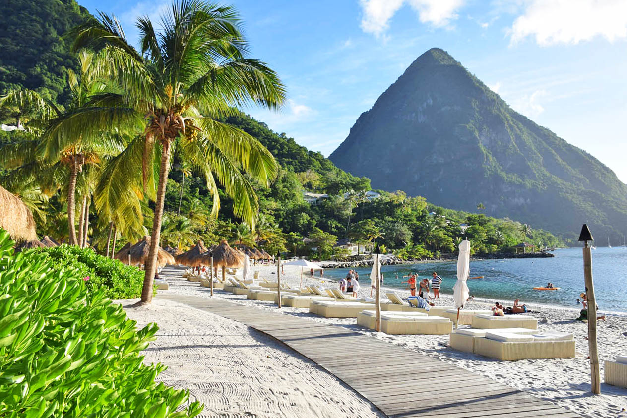 Sugar Beach - Anse des Pitons - St Lucia | foto: Lala Rebelo