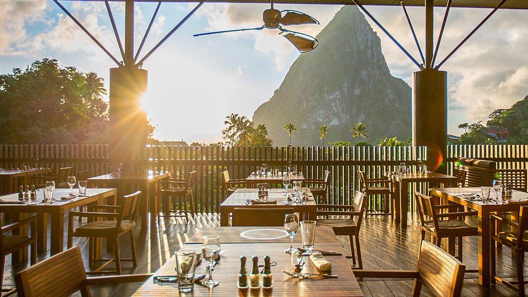 Boucan Restaurant no Hotel Chocolat - Soufrière - St. Lucia | foto: divulgação