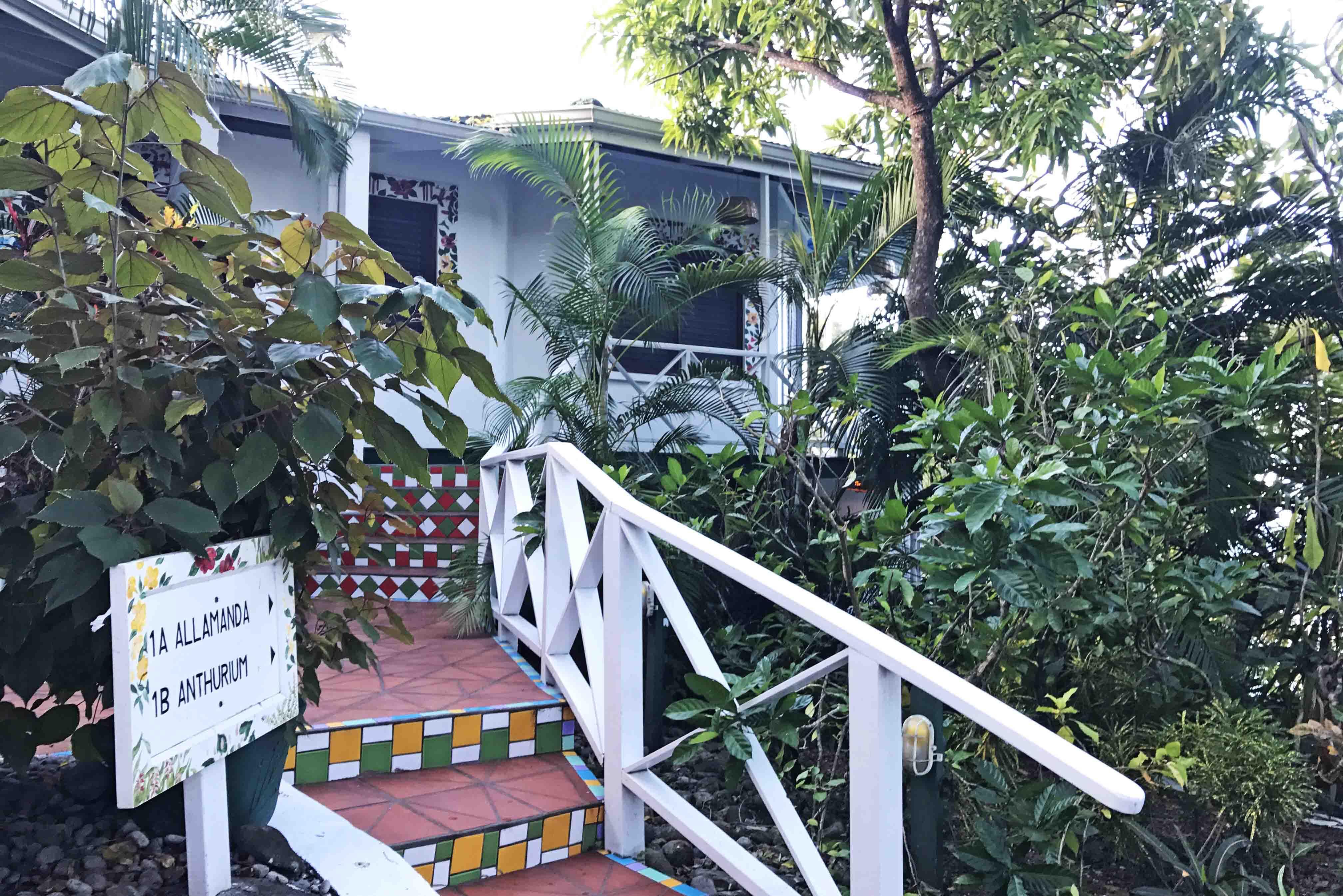 Um dos quartos do Anse Chastanet Resort, em Saint Lucia | foto: Lala Rebelo