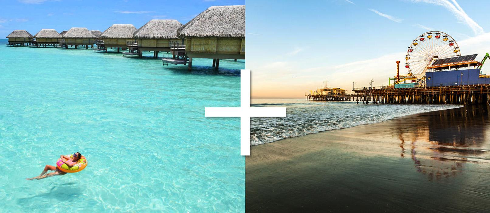 Polinésia Francesa e Califórnia - uma super combinação de destinos!
