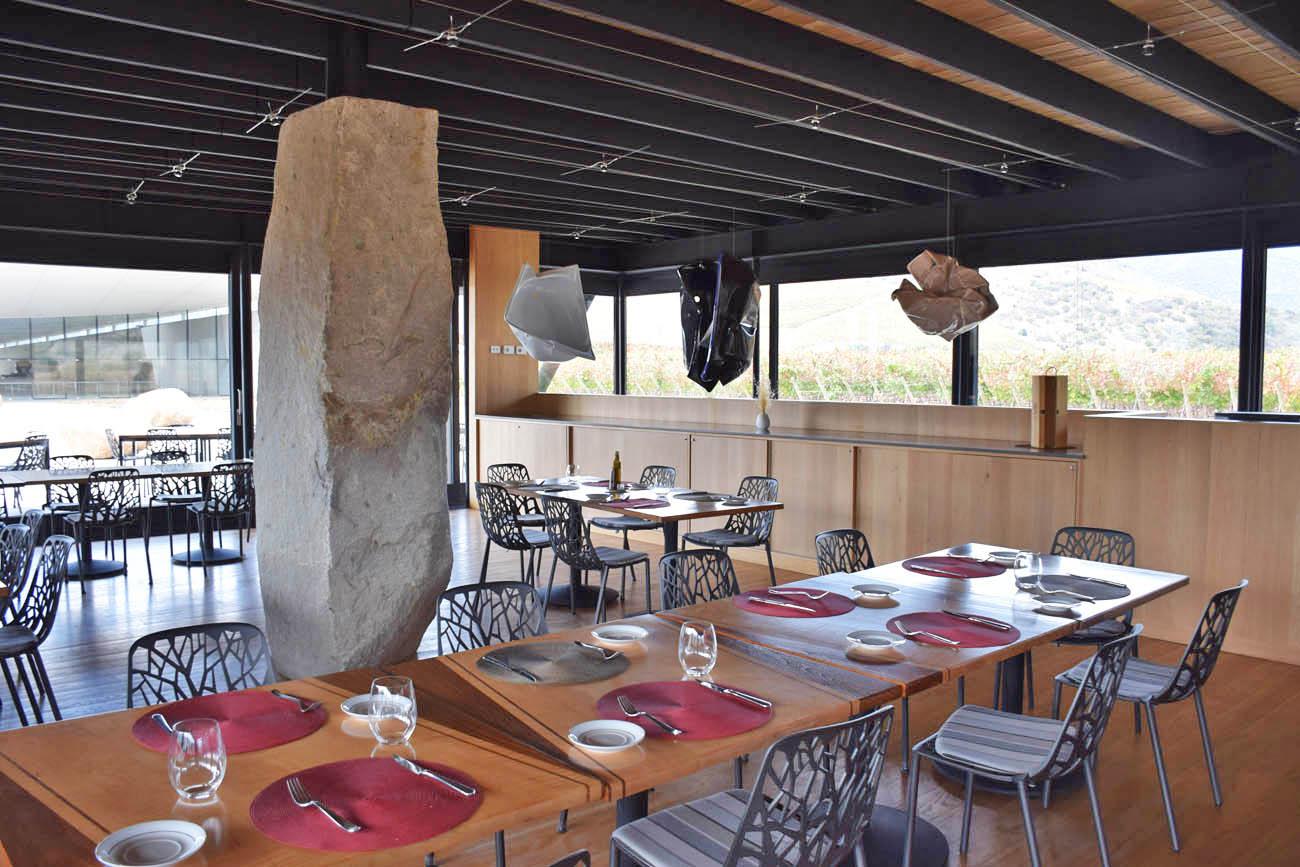 Vina Vik Chile - visita a vinícola - vale do Colchagua - tour e degustação - Restaurante Pavilion
