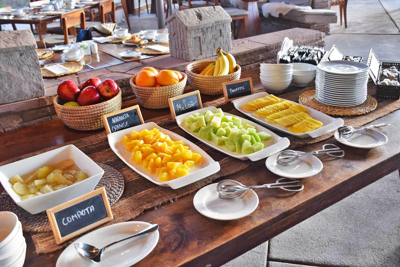 hotel tierra atacama - chile - gastronomia