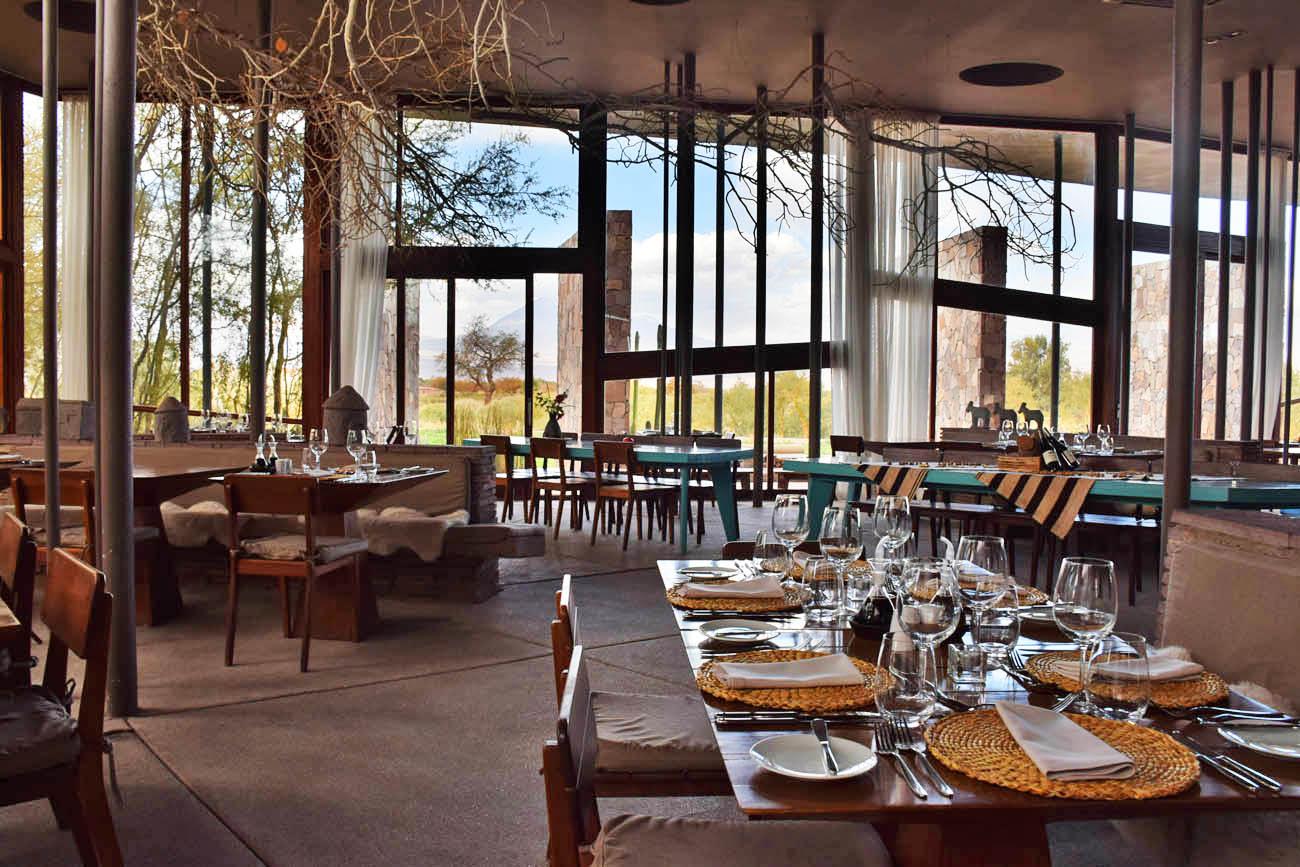 hotel tierra atacama - chile - restaurante