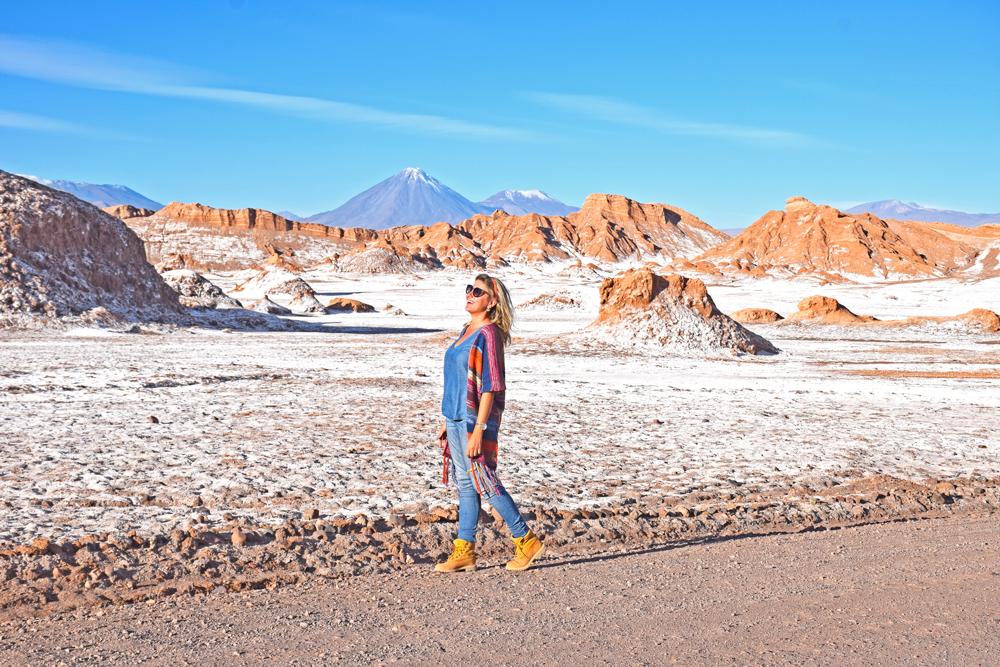 valle de la luna - deserto atacama - chile