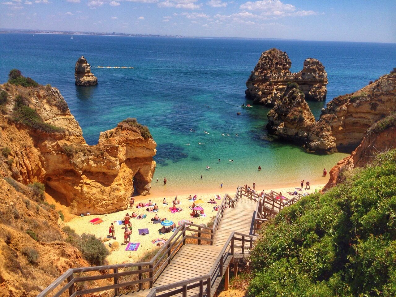 ideias de destinos para o verão europeu - algarve portugal - lala rebelo