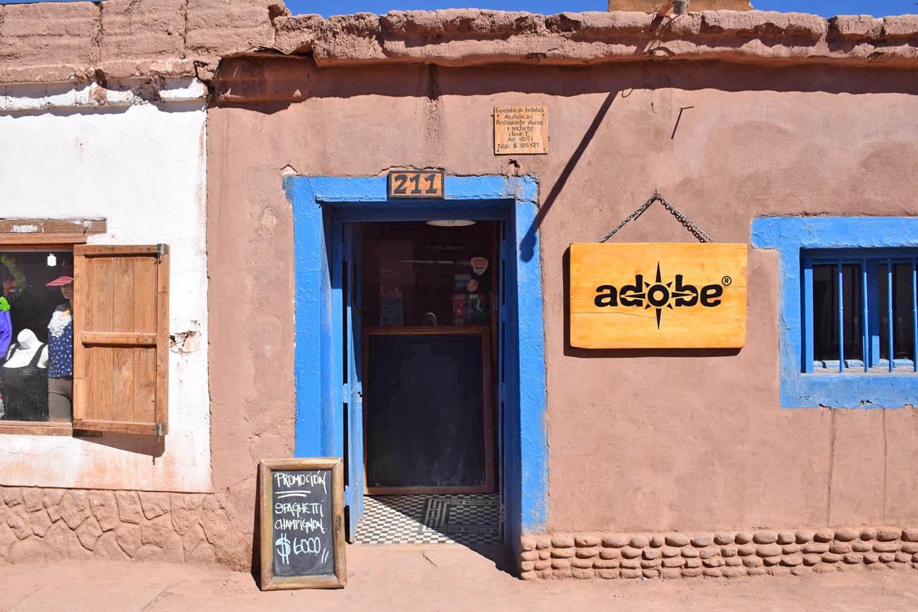Restaurante Adobe - San Pedro de Atacama