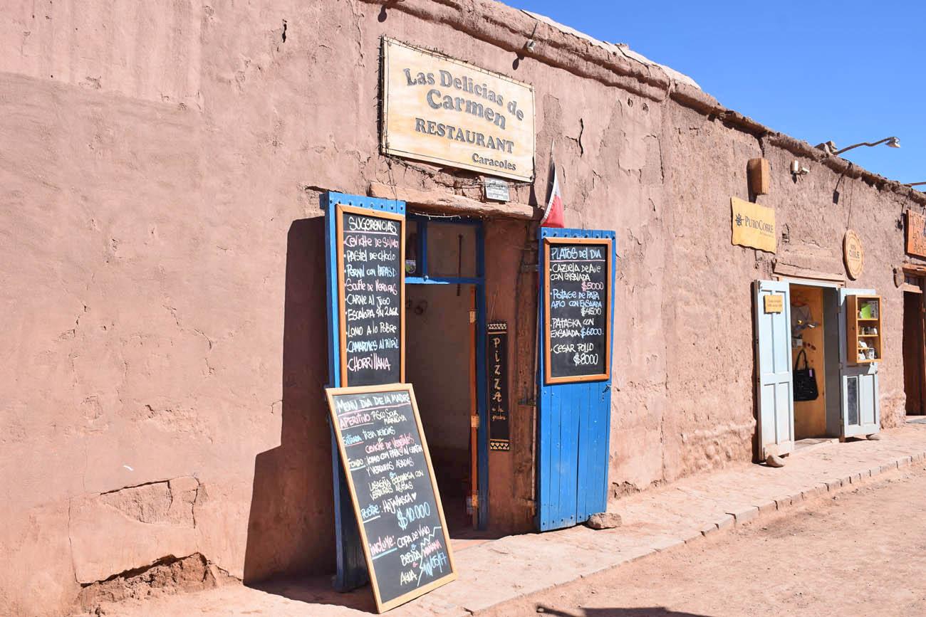 Las Delicias de Carmen - San Pedro de Atacama