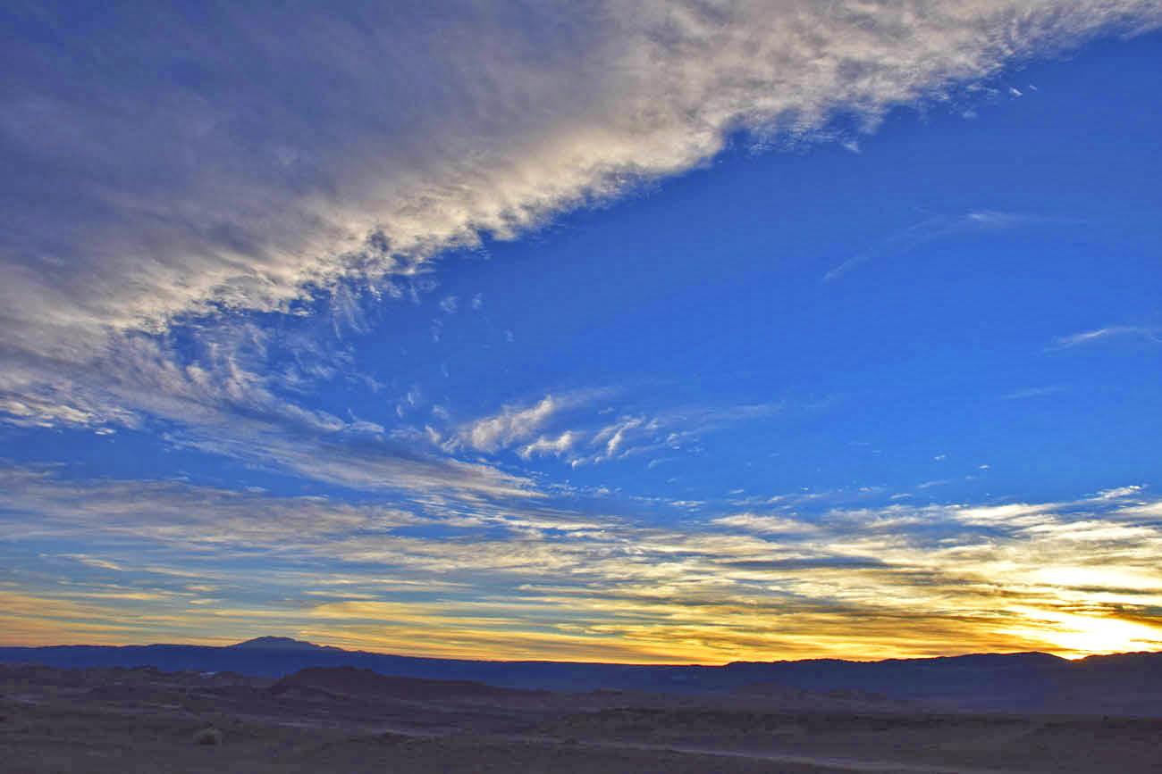 death valley sunset atacama
