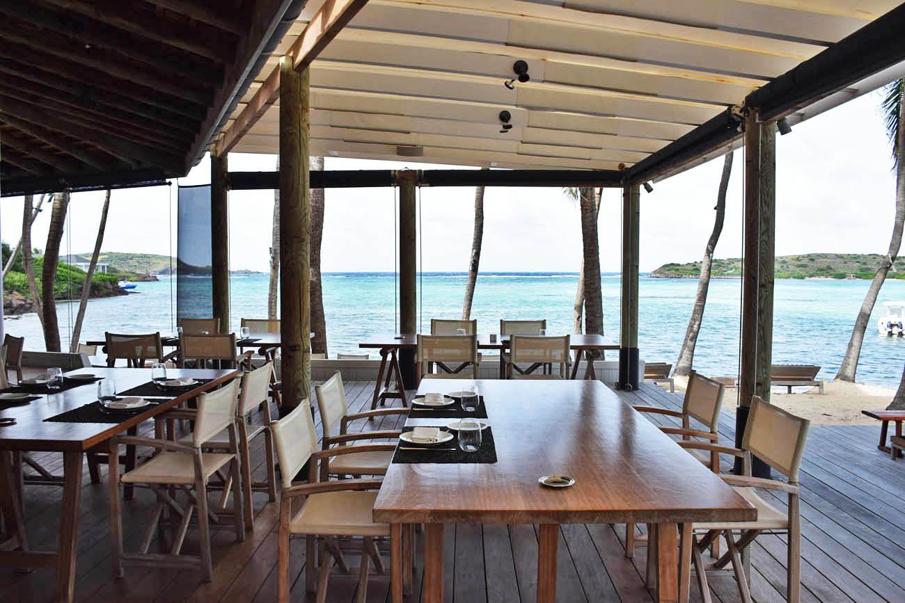 hotel le sereno restaurant - st barth