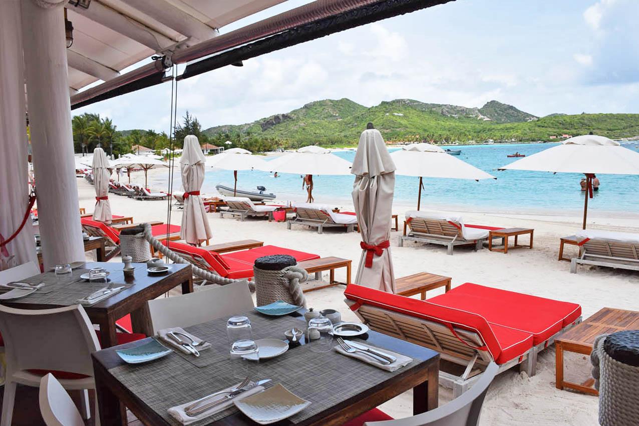 dicas de st barth - melhores restaurantes - sand bar - eden rock hotel - lala rebelo - baie de st jean